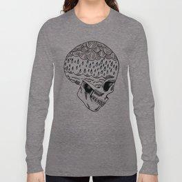 Skull Rain Long Sleeve T-shirt