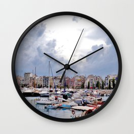 Piraeus, Greece 2 Wall Clock