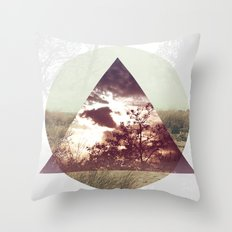 Perception Nature Throw Pillow