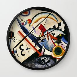 Wassily Kandinsky - White Cross Wall Clock