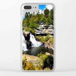 Blackwater Falls, West Virginia Clear iPhone Case
