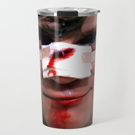Malcolm McDowell as Alex in the film Clockwork Orange (Stanley Kubrick- 1971) Travel Mug