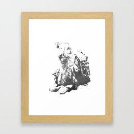 jamal Framed Art Print