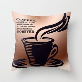 Coffee is Love Throw Pillow