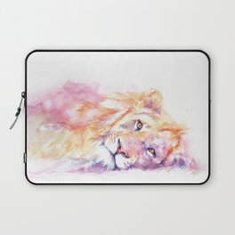 Lazy Days - African Lion Laptop Sleeve