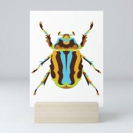 Scarab Beetle Mini Art Print
