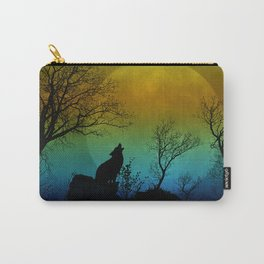Howling wolf II Carry-All Pouch