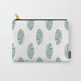 palm leaves in rows soft Carry-All Pouch