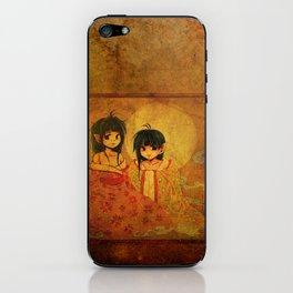 Twin Sisters iPhone Skin