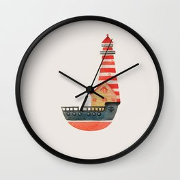 To The Land of Imagination Wall Clock