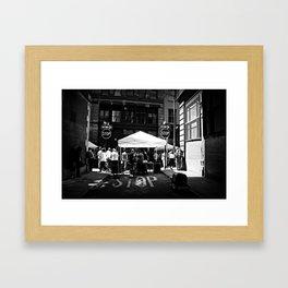 Stop Stop Framed Art Print