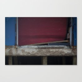 Red Gate, After Sandy Canvas Print