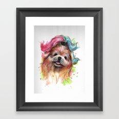oh my puddin Framed Art Print
