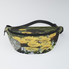 sunflowers in the stream Fanny Pack