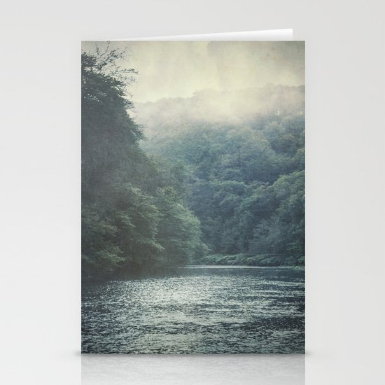 valley and river Stationery Cards