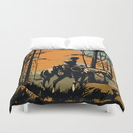 In the Evening Duvet Cover