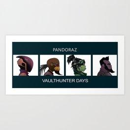 Vaulthunter Days Art Print