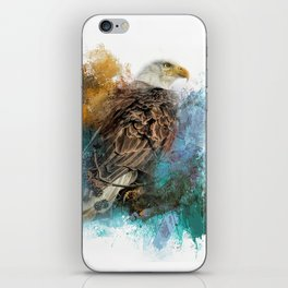Expressions Bald Eagle iPhone Skin