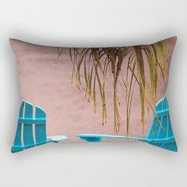 Tropical Rain Rectangular Pillow
