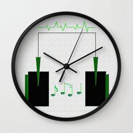 Life=Music Wall Clock