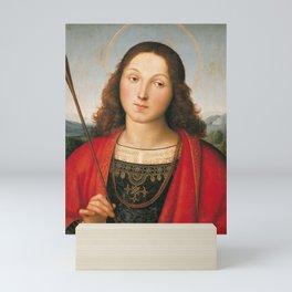 "Raffaello Sanzio da Urbino ""Saint Sebastian"", 1501-1502 Mini Art Print"
