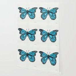 Blue Morpho Butterfly Wallpaper