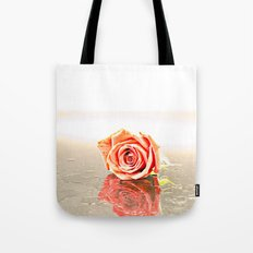 Over Exposed Rose Tote Bag