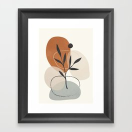 Persistence is fertile 1 Framed Art Print