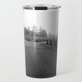 Dark Cemetery Travel Mug