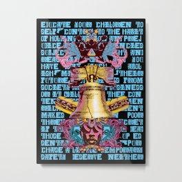 Artless x Philly Metal Print