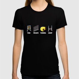 Tire Weave Tunnel Jump - Blank T-shirt