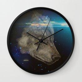 Wolf generation Wall Clock