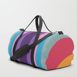Retro Rainbow 02 Duffle Bag