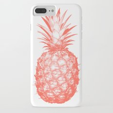 Coral Pineapple iPhone 7 Plus Slim Case
