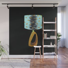 The Lamp is Watching / Lamp I / Yellow Eyes Wall Mural