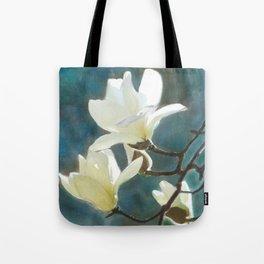 White Magnolia's One Tote Bag