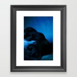 Snooze2 Framed Art Print