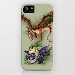 Baby Dragons iPhone Case