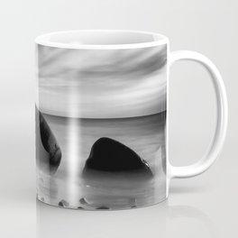 Hidden Bowling Ball Beach Northern California Coffee Mug
