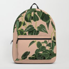 Heart Leaf Philodendron Backpack