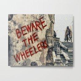 Beware The Wheelers Return To Oz Metal Print
