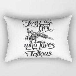Tattoo Sayings Women Rectangular Pillow