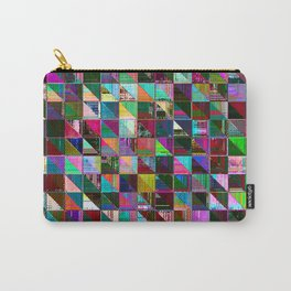 glitch color pattern Carry-All Pouch