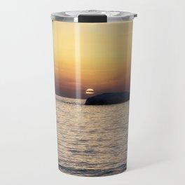 Sunset in Sardinia - Baia Trinita, La Maddalena, Italy Travel Mug