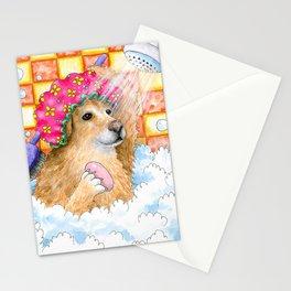 Dog 129 Funny Golden Retriever Stationery Cards
