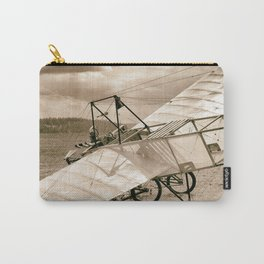 Old Airplane Carry-All Pouch