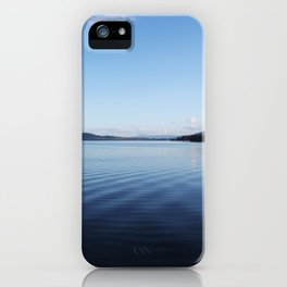 Blue Noon iPhone Case