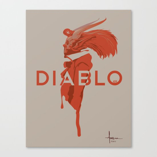 DIABLO409 Canvas Print
