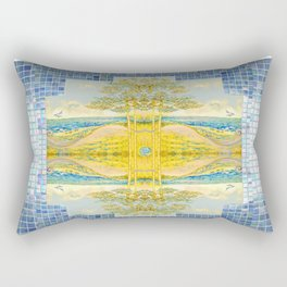 Sacred Reflection Rectangular Pillow