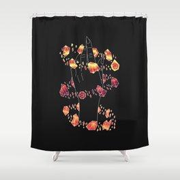 Solo - Illustration Shower Curtain